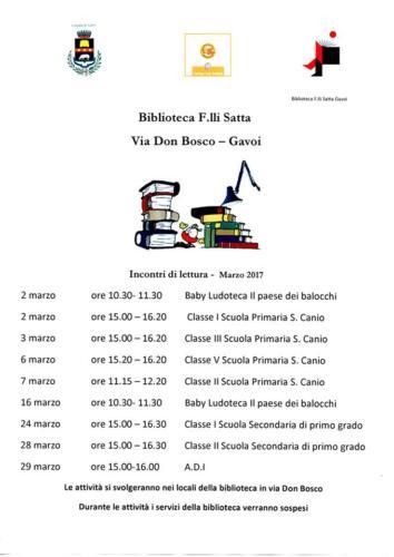 PROGRAMMA-MARZO-BIBLIOTECA-COMUNALE-GAVOI