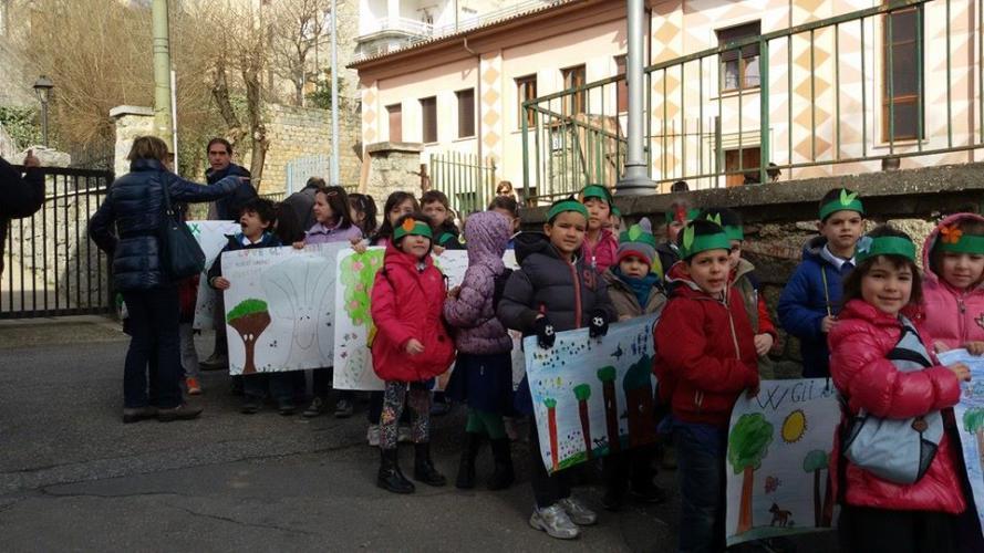 """Festa degli alberi """"Un albero per ogni bambino nato"""" – Lunedì 27 Marzo –"""
