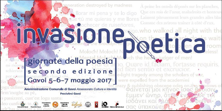 Invasione PoETICA a Gavoi: il 5, 6, 7 maggio Giornate della Poesia