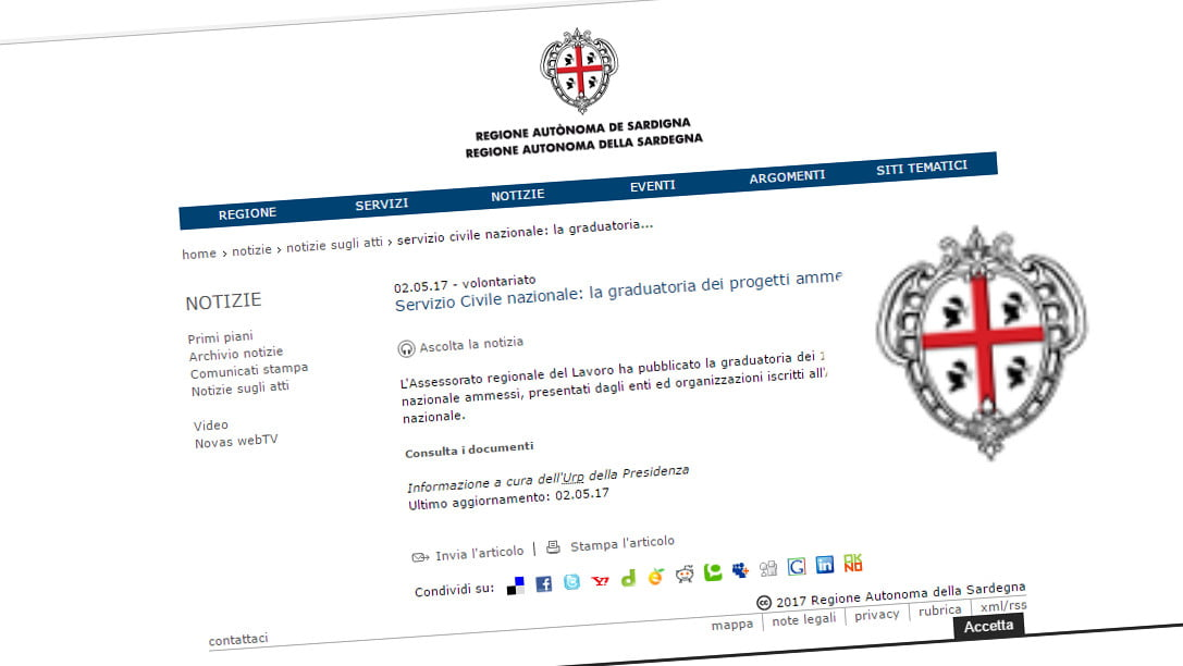 """APPROVATO IL PROGETTO """"CADA DIE CULTURA""""  DEL COMUNE DI GAVOI"""
