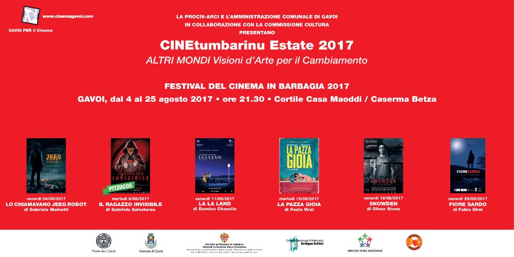 FESTIVAL DEL CINEMA IN BARBAGIA VENERDI 4 LA PRIMA PROIEZIONE