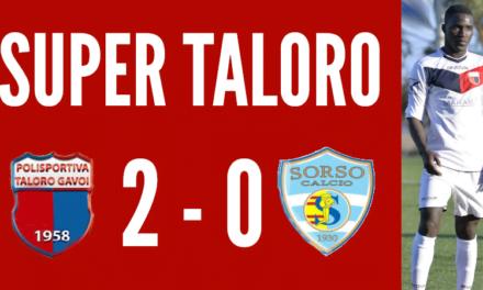 IL TALORO TRAVOLGE IL SORSO 2-0