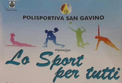 """LO SPORT PER TUTTI"" – Polisportiva San Gavino Gavoi –"