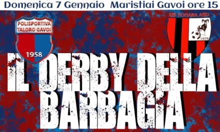 DOMENICA IL DERBY DELLA BARBAGIA: TALORO -TONARA