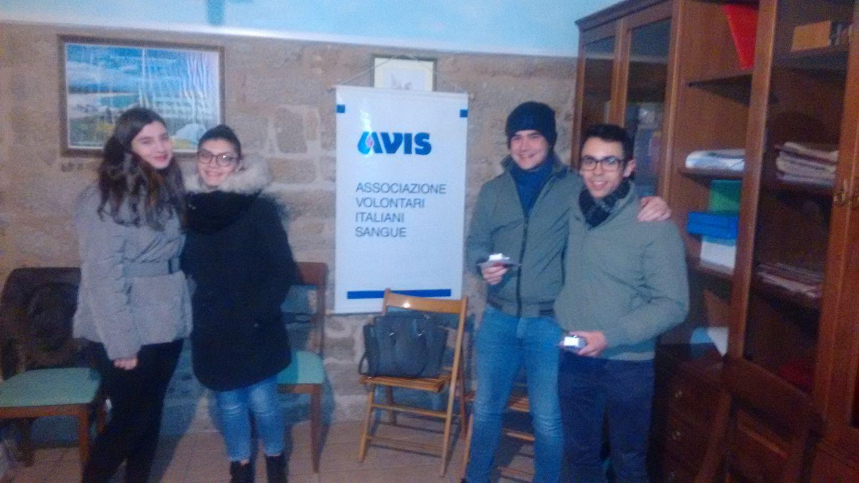 CONSEGNATE LE BORSE DI STUDIO DELL'AVIS GAVOI