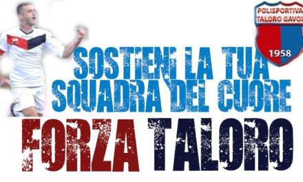LA SOCIETA' TALORO GAVOI INVITA I TIFOSI A SOSTENERE LA SQUADRA