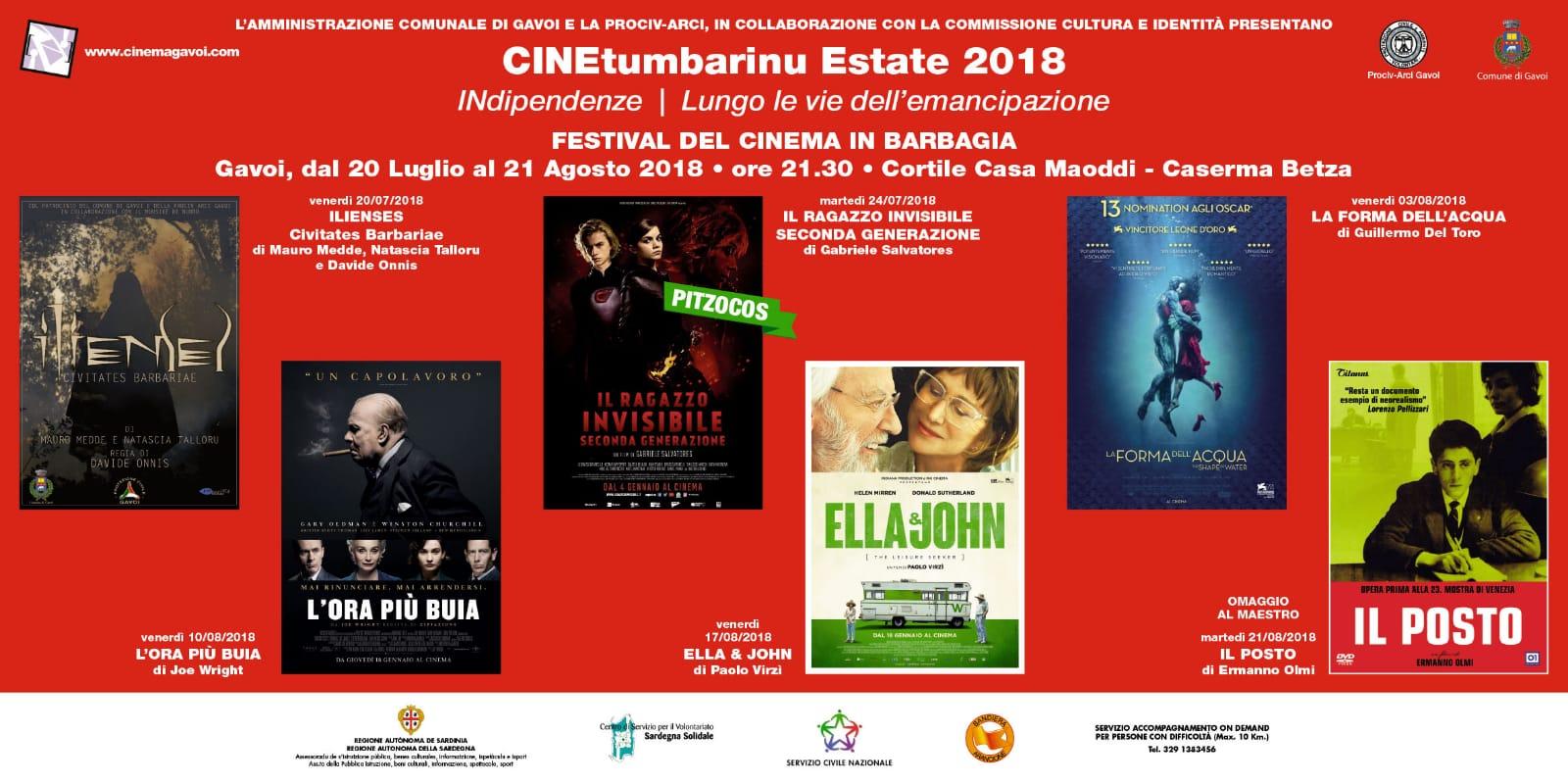CineTumbarinu 2018 Gavoi