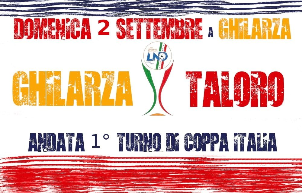 Coppa Italia il Taloro a Ghilarza