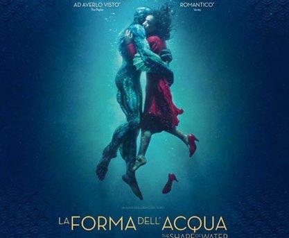 """CineTumbarinu Venerdì 3 Agosto """"La forma dell'acqua"""""""