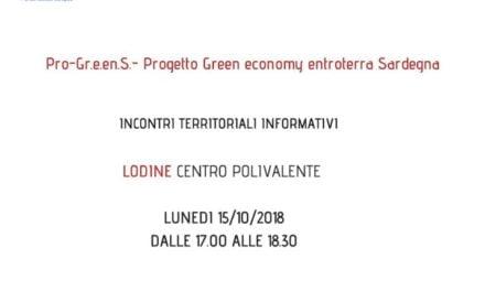 Progetto ProGreens GAL – BMG – OGGI A LODINE