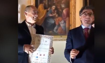 """AL FIORE SARDO SA MARCHESA IL PRIMO PREMIO """"CRUDI D'ITALIA"""""""
