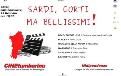 SERATA CONCLUSIVA  CineTumbarinu – Venerdi 25 Gennaio – Gavoi