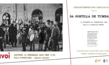 """PROIEZIONE FILMATO """"CARNEVALE GAVOESE DEL 1988"""""""