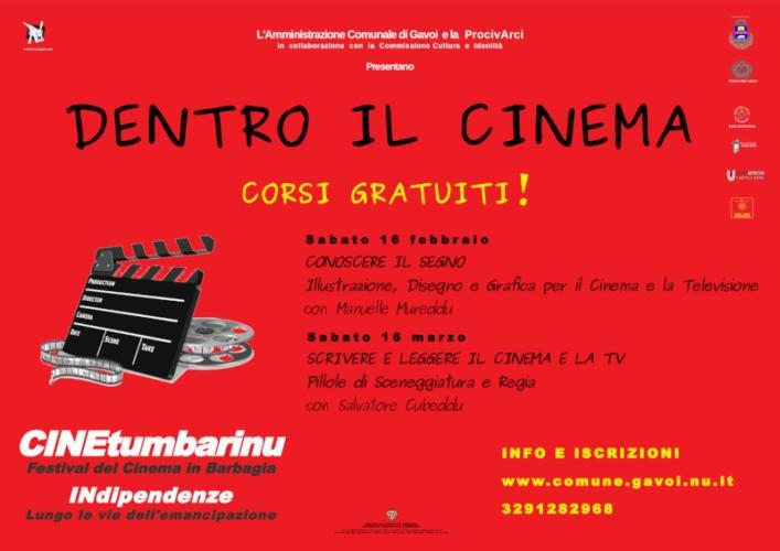 """A Gavoi """"Dentro il Cinema"""" due giornate di formazione"""