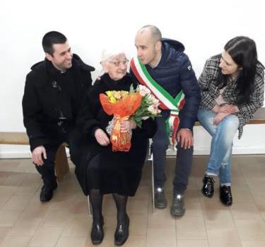 AUGURI PER I 100 ANNI DI TIA PEPPINA SEDDA