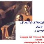 """LA SETTIMA RASSEGNA """"LE AUTO-STRADE DEL VINO – 2019 """""""