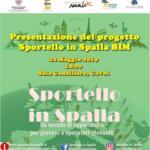 Presentazione del progetto Sportello in Spalla 2019