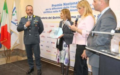 PREMIO TRASPARENZA ALL' ISTITUTO COMPRENSIVO DI GAVOI