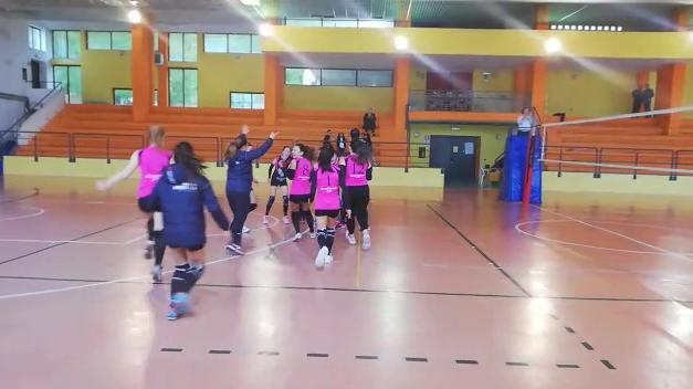 LA VOLLEY PSG SCONFITTA A VILLAGRANDE