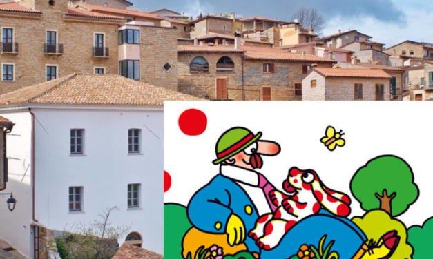 Pimpa approda in Sardegna.Una tappa anche a Gavoi!