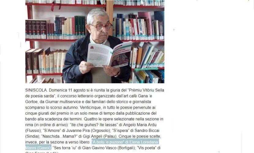 """""""A bolu 'e puzone"""" di Elena Loredana Manni (Gavoi)"""