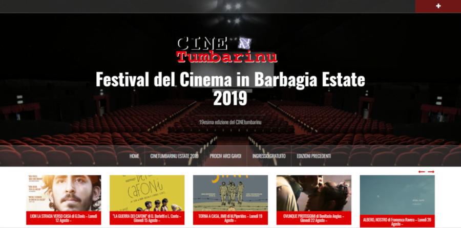 """TUTTO IL PROGRAMMA DEL """"CINEtumbarinu"""" 2019 Festival del Cinema in Barbagia"""