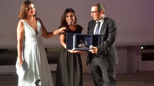 Alla gavoesa Mariangela Pira il Premio Navicella