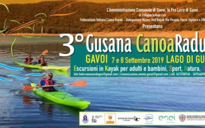 PROGRAMMA DEL 3° GUSANA CANOA RADUNO 2019