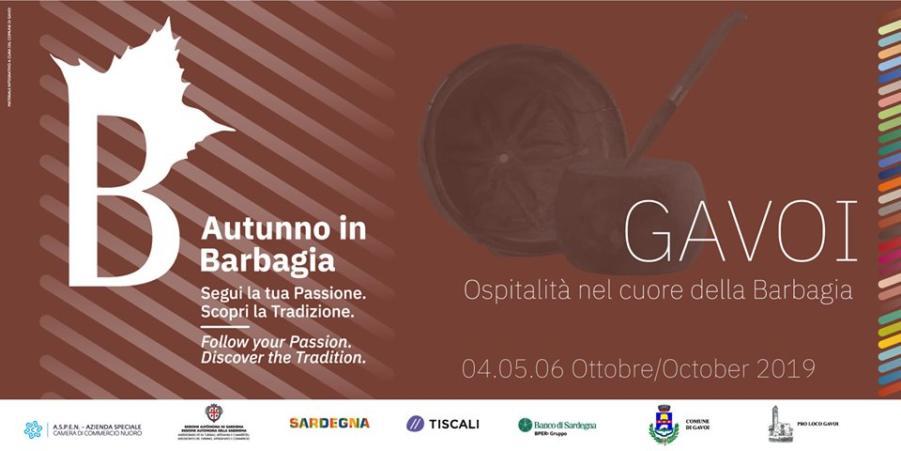 25ª SAGRA OSPITALITA' NEL CUORE DELLA BARBAGIA A GAVOI – il Programma 2019 –