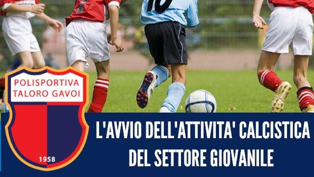 AVVIO STAGIONE 2019-2020 DEL SETTORE GIOVANILE DEL TALORO