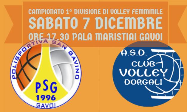 SABATO 7 ESORDIO DELLA VOLLEY SAN GAVINO NEL CAMPIONATO DI 1ª DIVISIONE