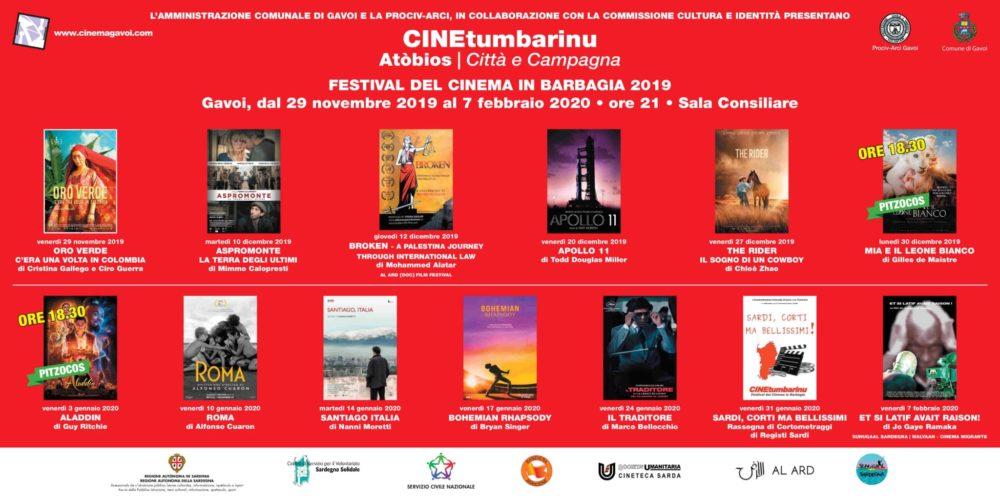 VENERDI PARTE IL CineTumbarinu 2019