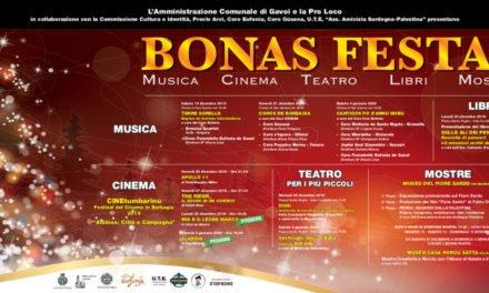 """Bonas Festas """" TUTTO IL PROGRAMMA DEL NATALE A GAVOI"""""""