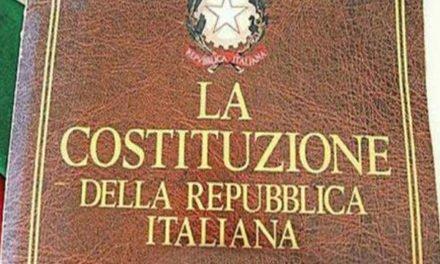 """""""LA COSTITUZIONE: BALUARDO CONTRO L'IMBARBARIMENTO DELLA SOCIETÀ"""""""