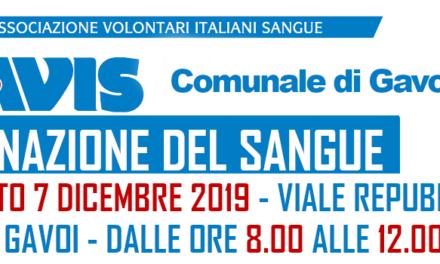 ULTIMA RACCOLTA DEL SANGUE PER IL 2019