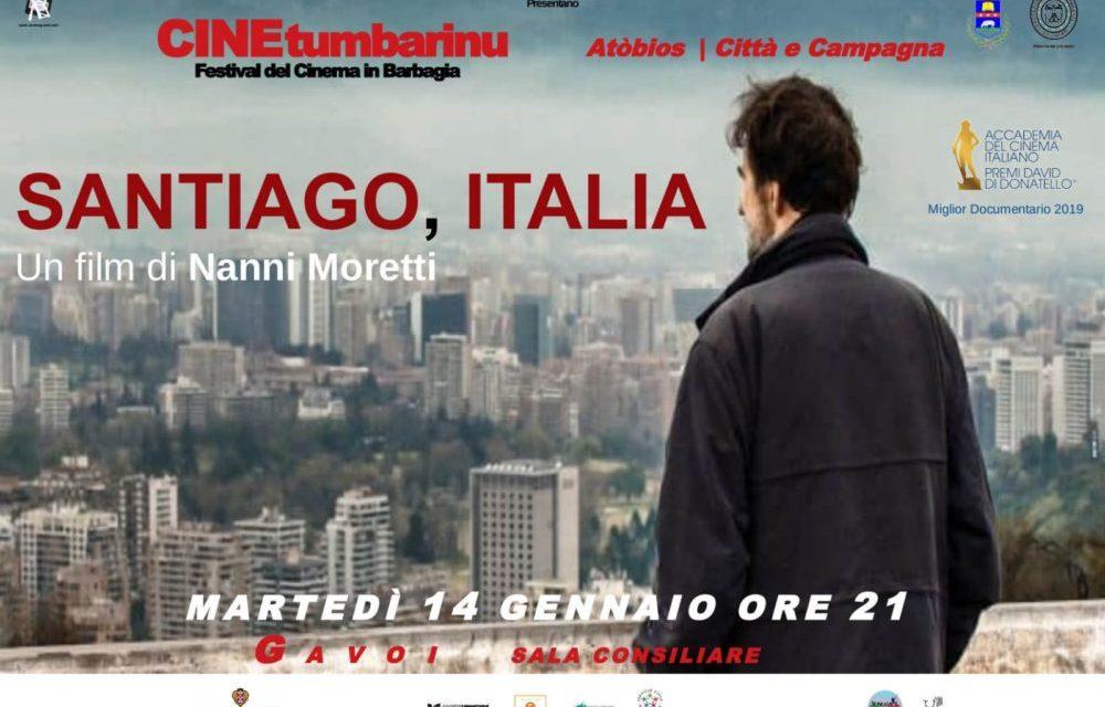 SANTIAGO, ITALIA di Nanni Moretti Martedì 14 gennaio ORE 21