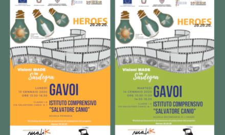 """""""Visioni made in Sardegna"""" arriva nelle scuole di Gavoi"""
