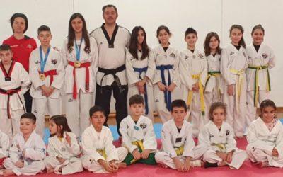 Asd Tiger Eyes! Giada Plastino e Mariano Lai Taekwondo tutto d'oro