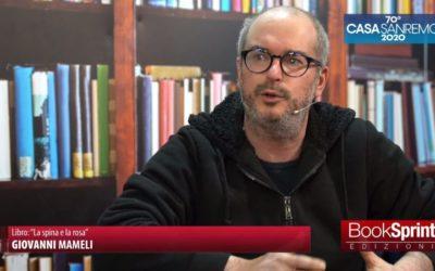 """IL GAVOESE GIOVANNI MAMELI PRESENTA IL SUO LIBRO A """"CASA SANREMO"""" 2020"""