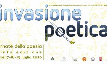 """""""TRE GIORNI DI POESIA A GAVOI"""" il 17-18-19 LUGLIO – INVASIONE POETICA"""