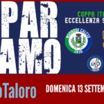 """DOMENICA """"NUORESE-TALORO GAVOI""""  COPPA ITALIA 2020/2021"""