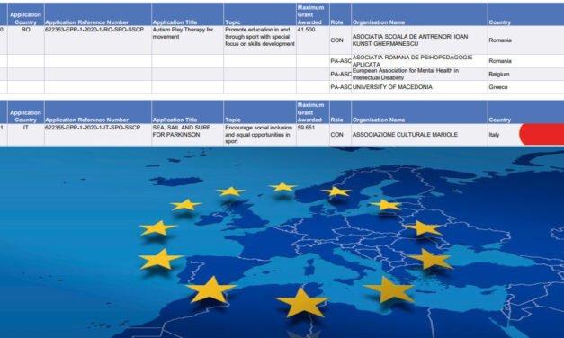 FINANZIATO DALL'UNIONE EUROPEA UN PROGETTO DI UN'ASSOCIAZIONE PRESIEDUTA DA UNA GAVOESE