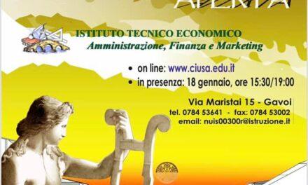 OPEN DAY  DELL'ISTITUTO TECNICO CARMELO FLORIS DI GAVOI
