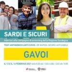 SABATO E DOMENICA 2ª TORNATA DEL TEST ANTIGENICO ANTI COVID-19 A GAVOI