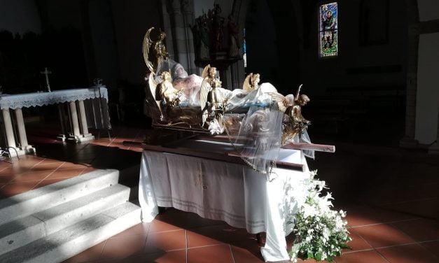 MARIA ASSUNTA ESPOSTA NELLA CHIESA DI SAN GAVINO A GAVOI