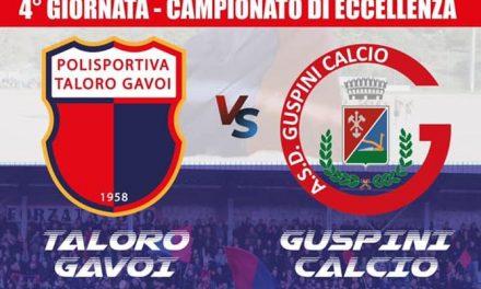TALORO GAVOI vs GUSPINI CALCIO MERCOLEDÌ 29