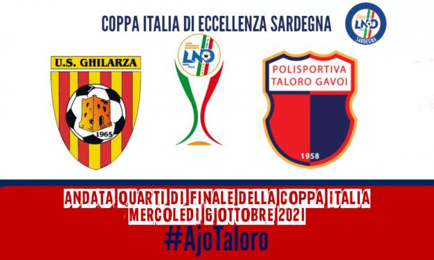 """""""MERCOLEDÌ DI COPPA"""" – GHILARZA vs TALORO GAVOI"""